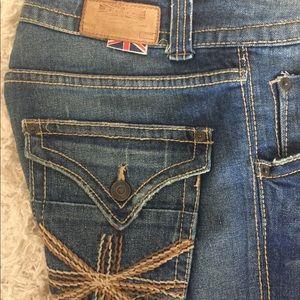 Hudson denim bootcut jeans
